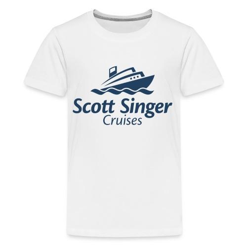 Scott Singer Cruises Logo Products - Kids' Premium T-Shirt