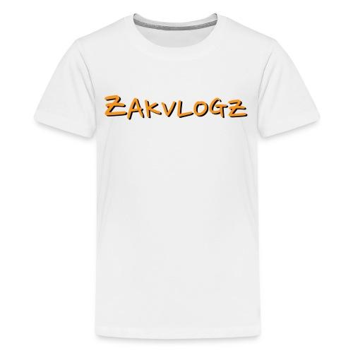 ZakVlogz - Kids' Premium T-Shirt