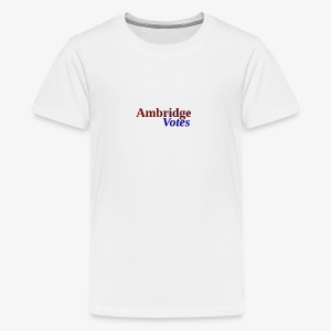 Ambridge Votes - Kids' Premium T-Shirt