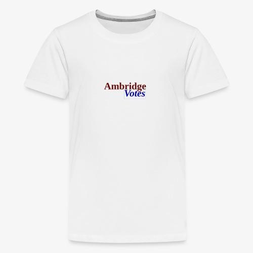 Ambridge Votes - Kids' Premium T-Shirt