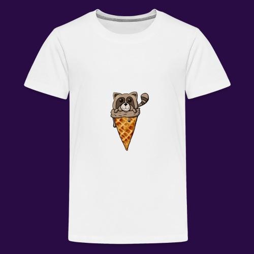 Tanuki Ice Cream - Kids' Premium T-Shirt