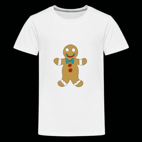 Gingerbread Man - Kids' Premium T-Shirt