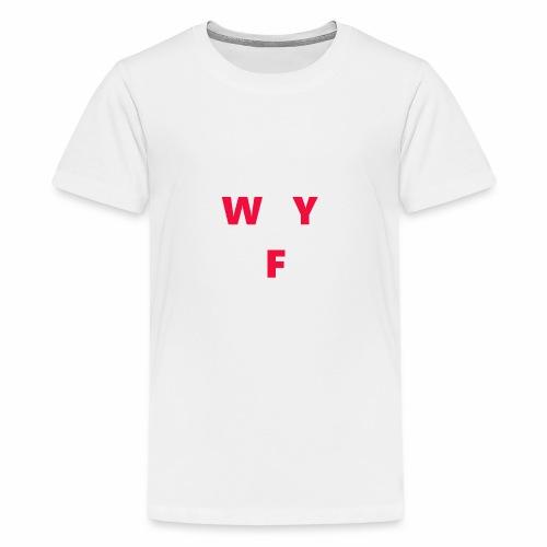 WAY OFF logo - Kids' Premium T-Shirt