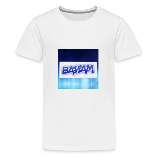 blue wallpaper 8 1 - Kids' Premium T-Shirt