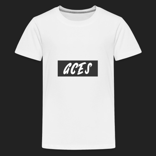 Aces Box Logo - Kids' Premium T-Shirt