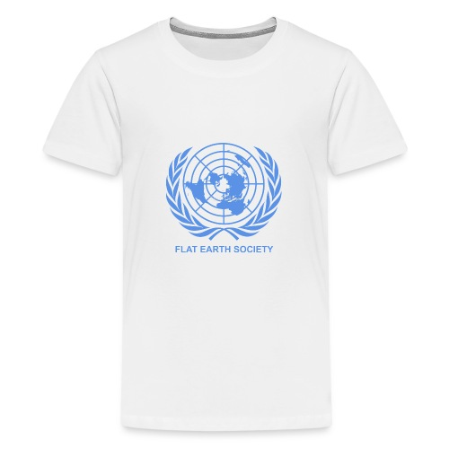 Flat Earth Society - Kids' Premium T-Shirt