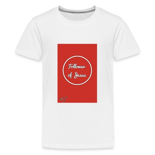 The follower of Jesus collection by Lola Sexton - Kids' Premium T-Shirt