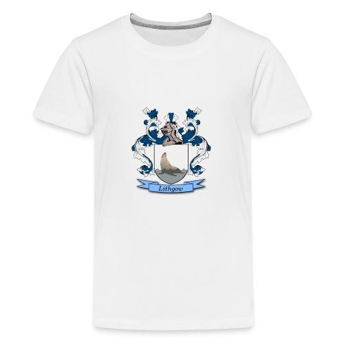 Lithgow Family Crest - Kids' Premium T-Shirt