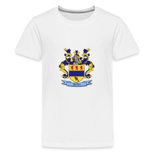 Peffer Family Crest - Kids' Premium T-Shirt
