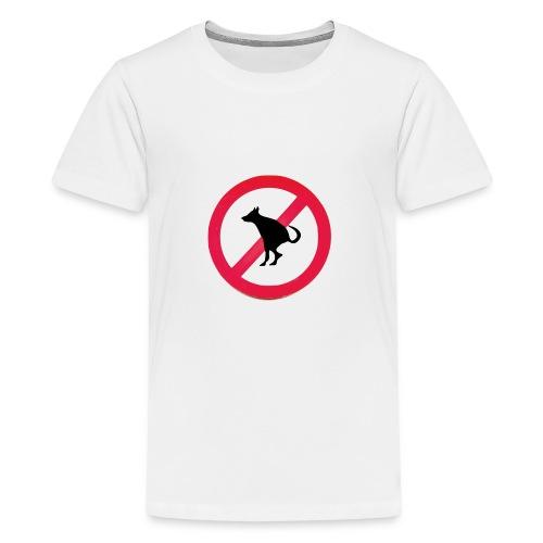 No Dog Poop - Kids' Premium T-Shirt