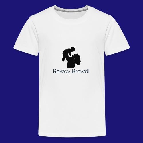 Rowdy Browdi Mama - Kids' Premium T-Shirt
