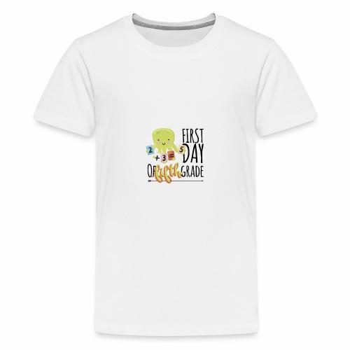 First Day of Fifth Grade - Kids' Premium T-Shirt