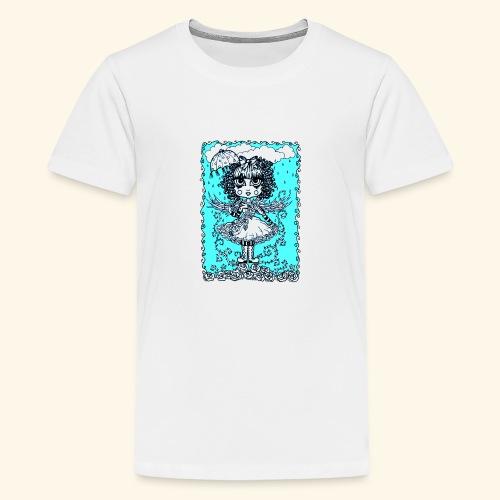 Angel in the Rain Poster - Kids' Premium T-Shirt