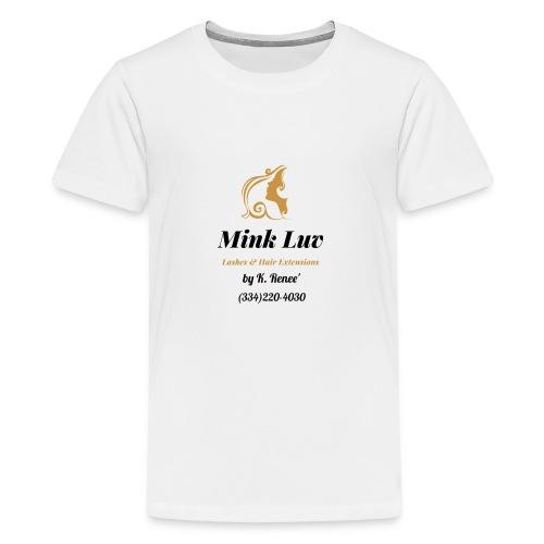 Mink Logo - Kids' Premium T-Shirt