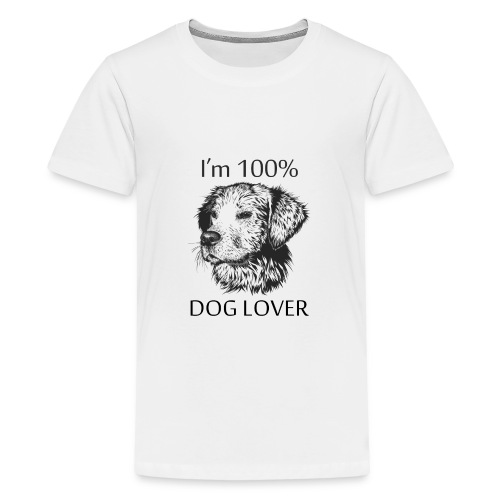 DOG LOVER - Kids' Premium T-Shirt