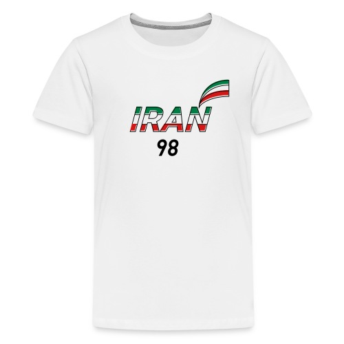 Iran's France 98 20th Anniversary Tee - Kids' Premium T-Shirt