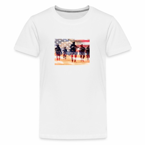sons daughters hero's - Kids' Premium T-Shirt