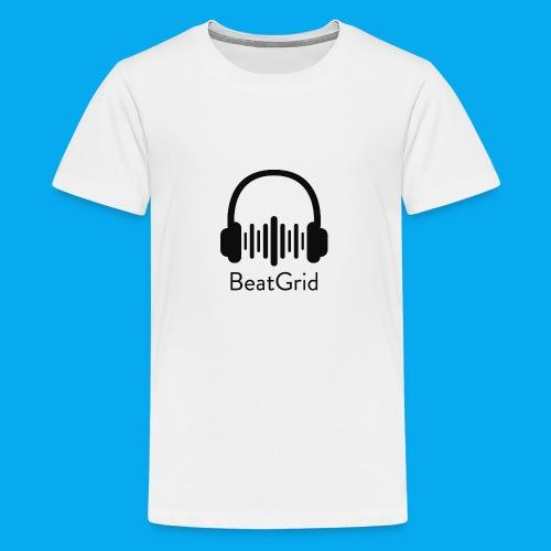 BeatGrid Classic Black Logo - Kids' Premium T-Shirt
