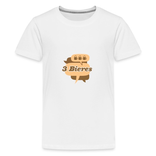Blanc - Kids' Premium T-Shirt