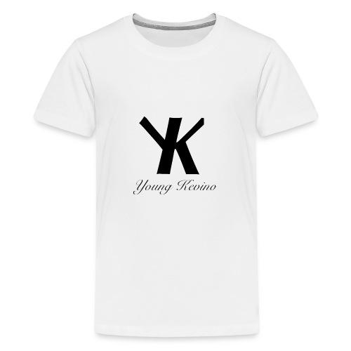 Young Kevino Official Logo (Black) - Kids' Premium T-Shirt