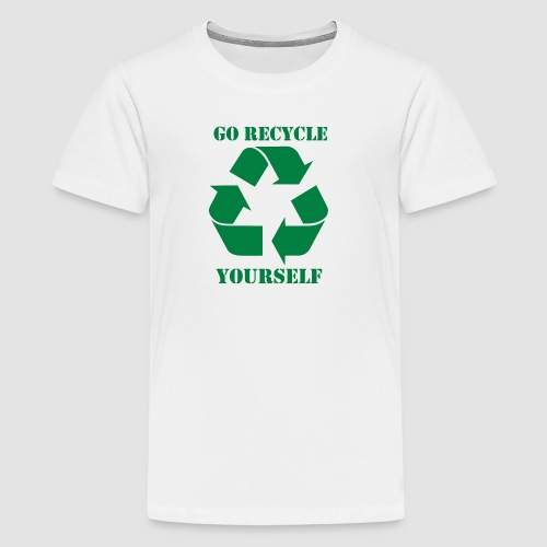 Go Recycle Yourself - Kids' Premium T-Shirt