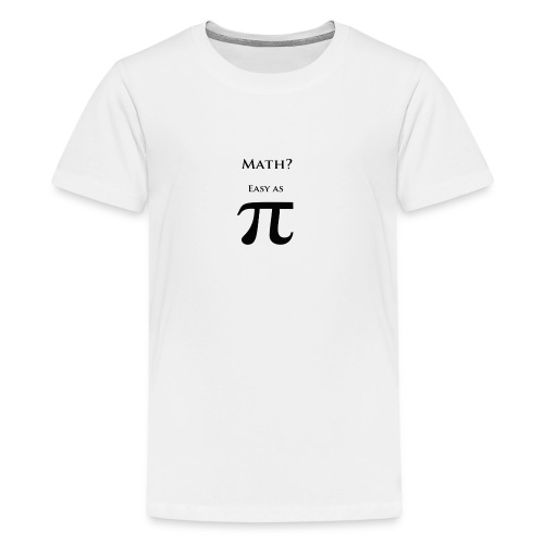 Pi Black - Kids' Premium T-Shirt