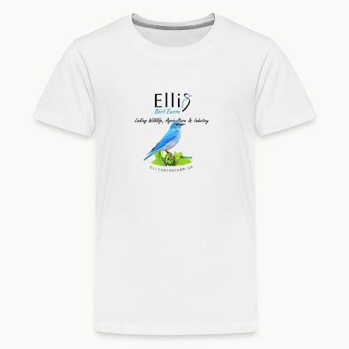 Ellis Bird Farm - Carolyn Sandstrom - Kids' Premium T-Shirt