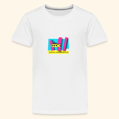 Yellow Submarine-CMKY - Kids' Premium T-Shirt