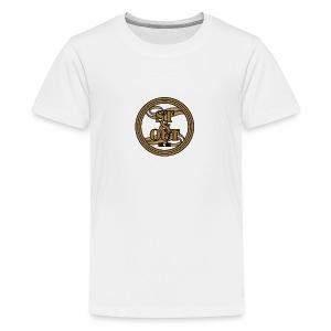 1St OutLogo Gold copy - Kids' Premium T-Shirt