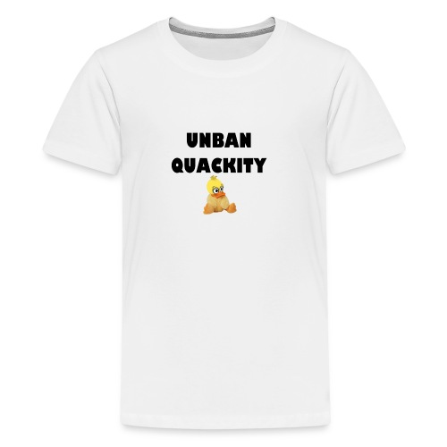 UNBAN QUACKITY - Kids' Premium T-Shirt
