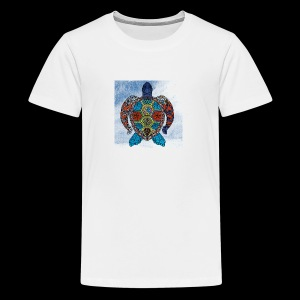 the hurricane turtle - Kids' Premium T-Shirt