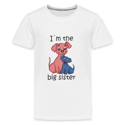 I'm the Big Sister - Kids' Premium T-Shirt