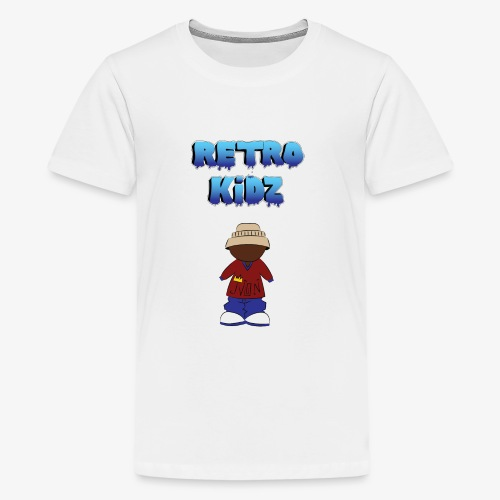 New Retro Kidz Back - Kids' Premium T-Shirt
