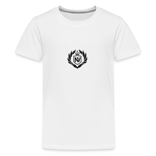 Number One Village Logo Black - Kids' Premium T-Shirt