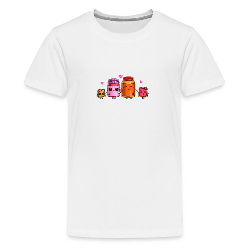 Peanut Butter and Jelly Family - Kids' Premium T-Shirt