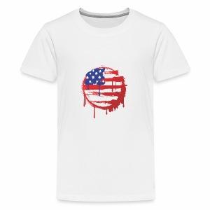 usa bleed - Kids' Premium T-Shirt