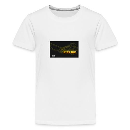Fire Ink Logo - Kids' Premium T-Shirt