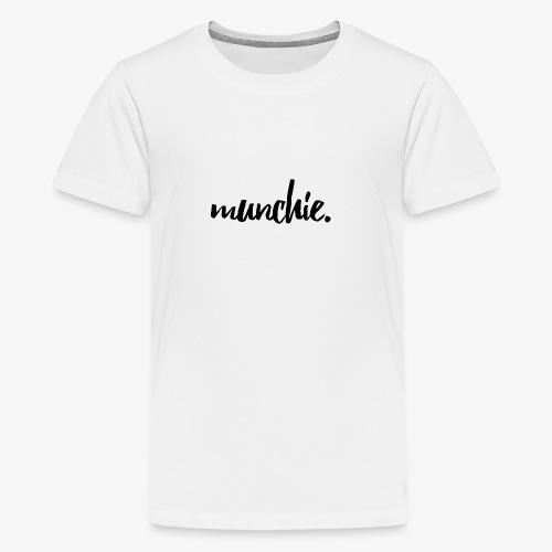 Munchie - Black - Kids' Premium T-Shirt