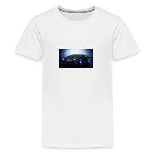 lamborghini black back ground - Kids' Premium T-Shirt