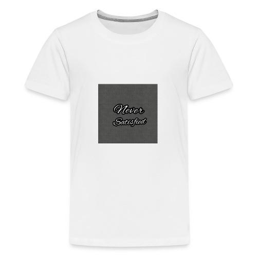 Slogan White Grey2 - Kids' Premium T-Shirt