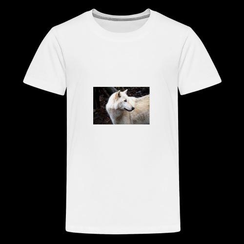 White_Wolf - Kids' Premium T-Shirt