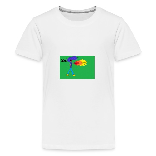 blazing_sky_katana - Kids' Premium T-Shirt