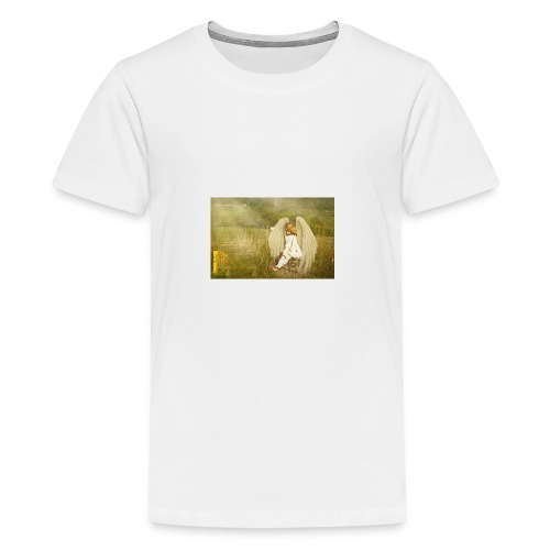An Angel to Watch Over You - Kids' Premium T-Shirt