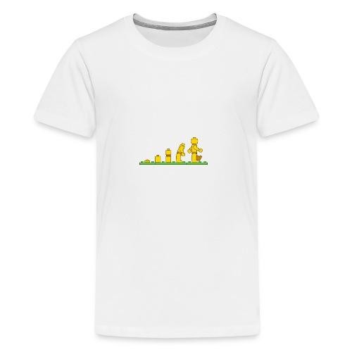 Lego Man Evolution - Kids' Premium T-Shirt