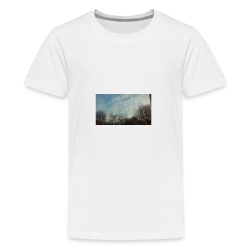 jersery winter sky - Kids' Premium T-Shirt