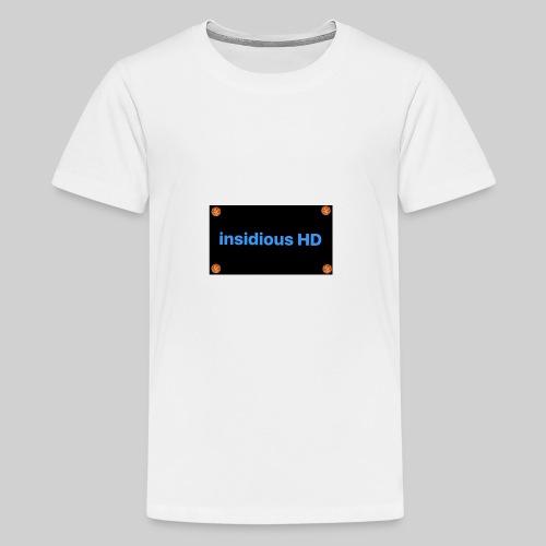 Basketball framed logo - Kids' Premium T-Shirt