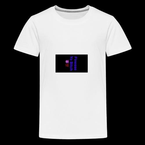 snapchat logo 5 - Kids' Premium T-Shirt