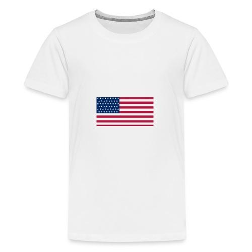usa flag - Kids' Premium T-Shirt