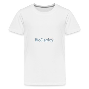 BioDeploy Logo Blue Mix - Kids' Premium T-Shirt