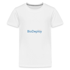 BioDeploy Logo Deep Blue - Kids' Premium T-Shirt